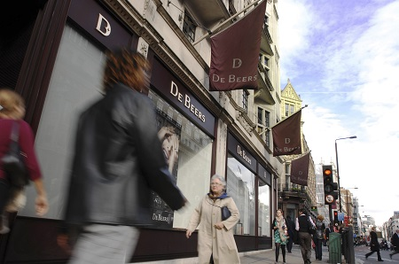 De Beers Dimaonds Stores