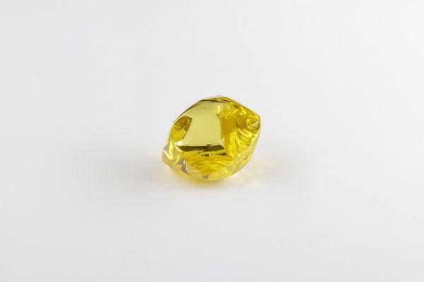 Alrosa Vivid Yellow Rough Diamond