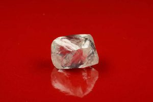 82.82-carat octahedron rough diamond