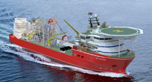 Debmarine Splashes $142M on Diamond Ship