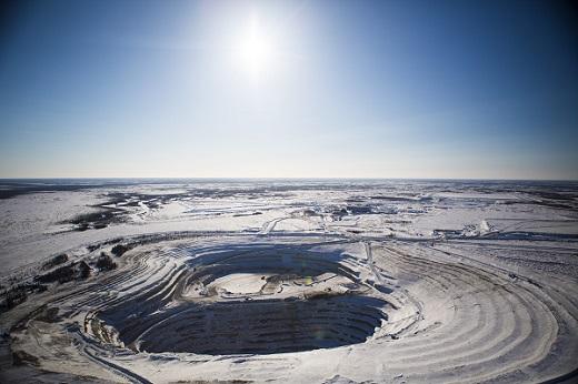 De Beers Victor Mine Canada