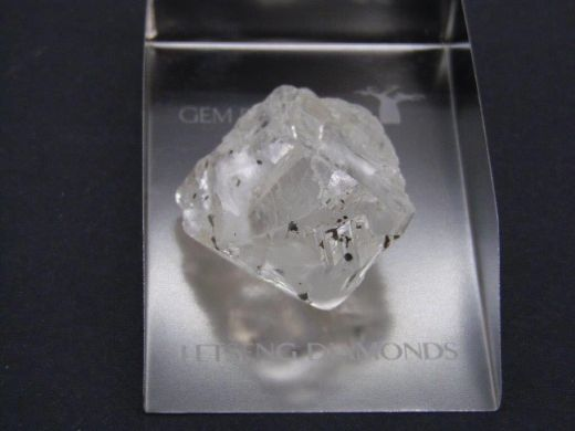 Gem Diamonds Letseng 202 carat rough diamond