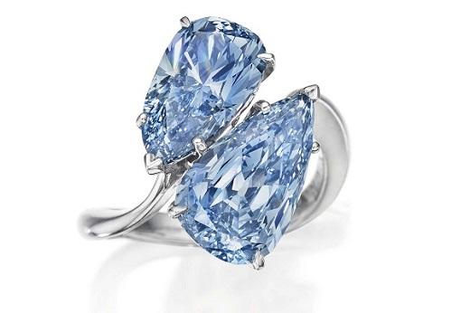 Graff Vivid Blue Diamond Ring
