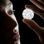 102.34 carat D colour Flawless round diamond