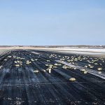 Yakutsk airport in Eastern Siberia