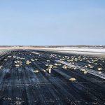 Yakutsk airport in Eastern Siberia