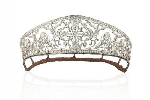 Belle Époque diamond tiara