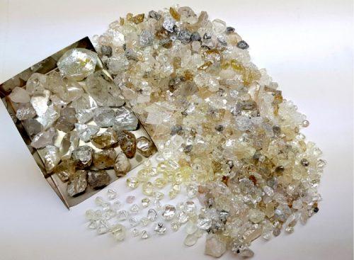 Lucapa Rough Diamonds