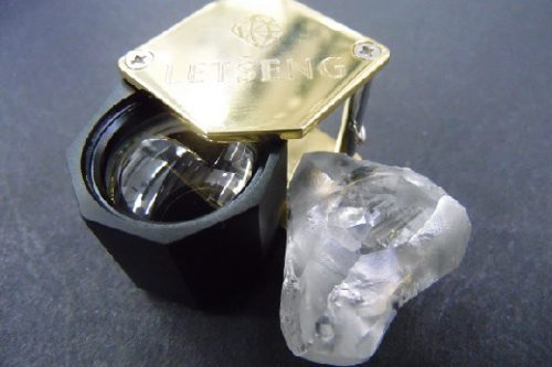 Gem Diamonds 100.50 carat rough diamond
