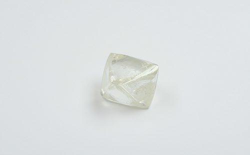 Alrosa 83.5 carat rough diamond