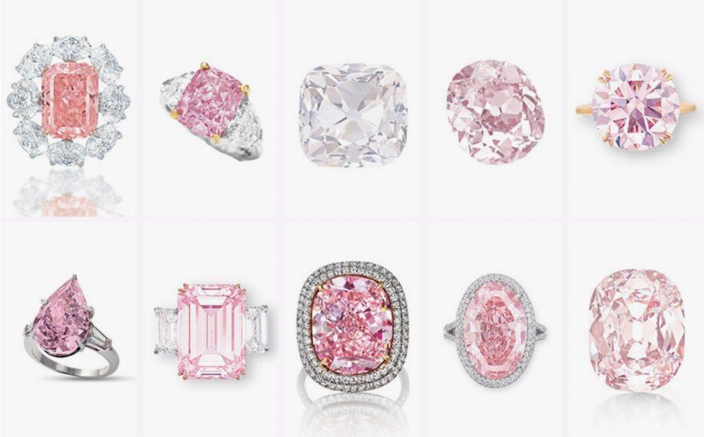 10 history-making pink diamonds