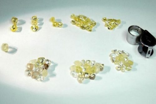 POZ Blina yellow diamonds