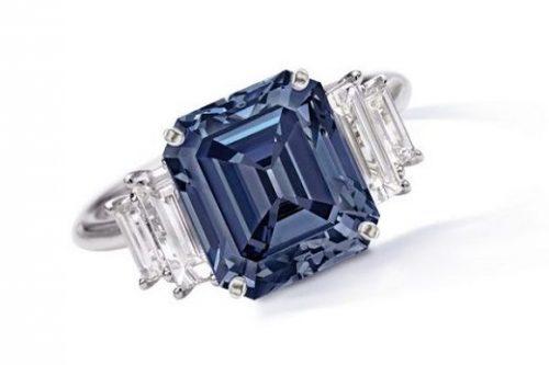 Sothebys Blue Ring