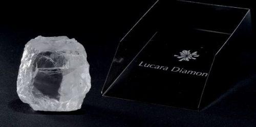 Lucara 240 Carat Rough Diamond