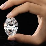 88 carat oval diamond