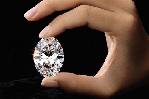 88 carat oval diamond