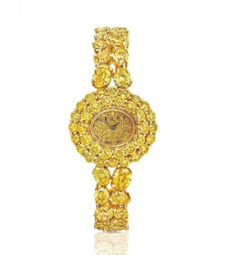 Graff Yellow Diamond Watch