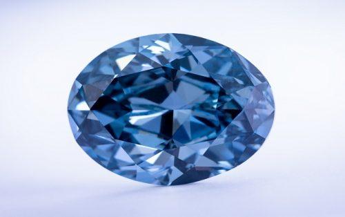 20.46 carat blue diamond