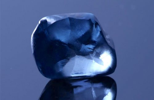 Botswana Blue Diamond