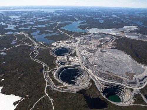 Canadian diamond mining