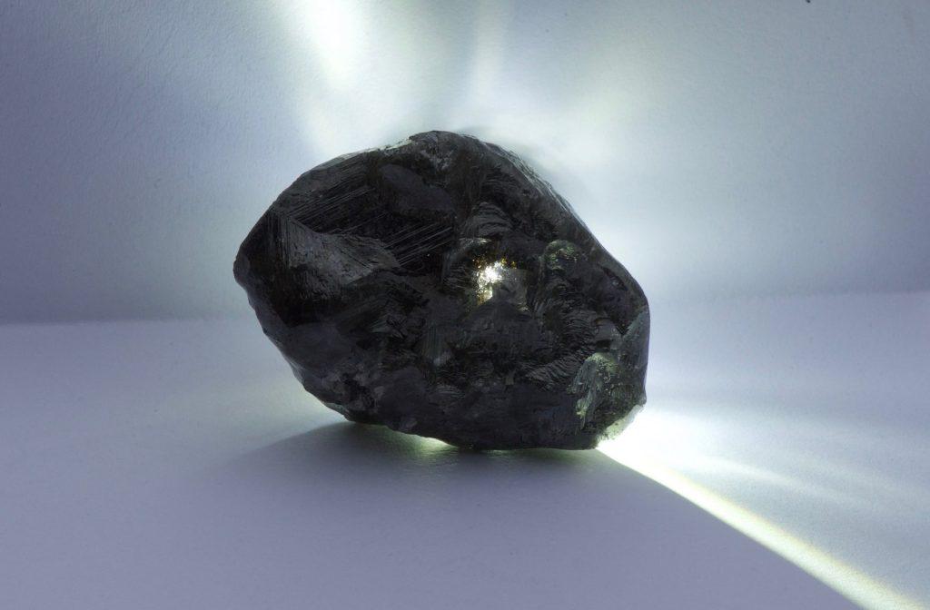 The 1,758 carat diamond