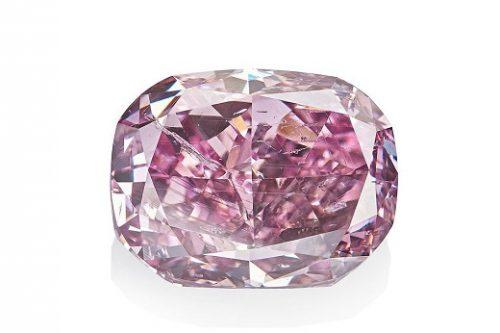 Alrosa 11 carat purple diamond