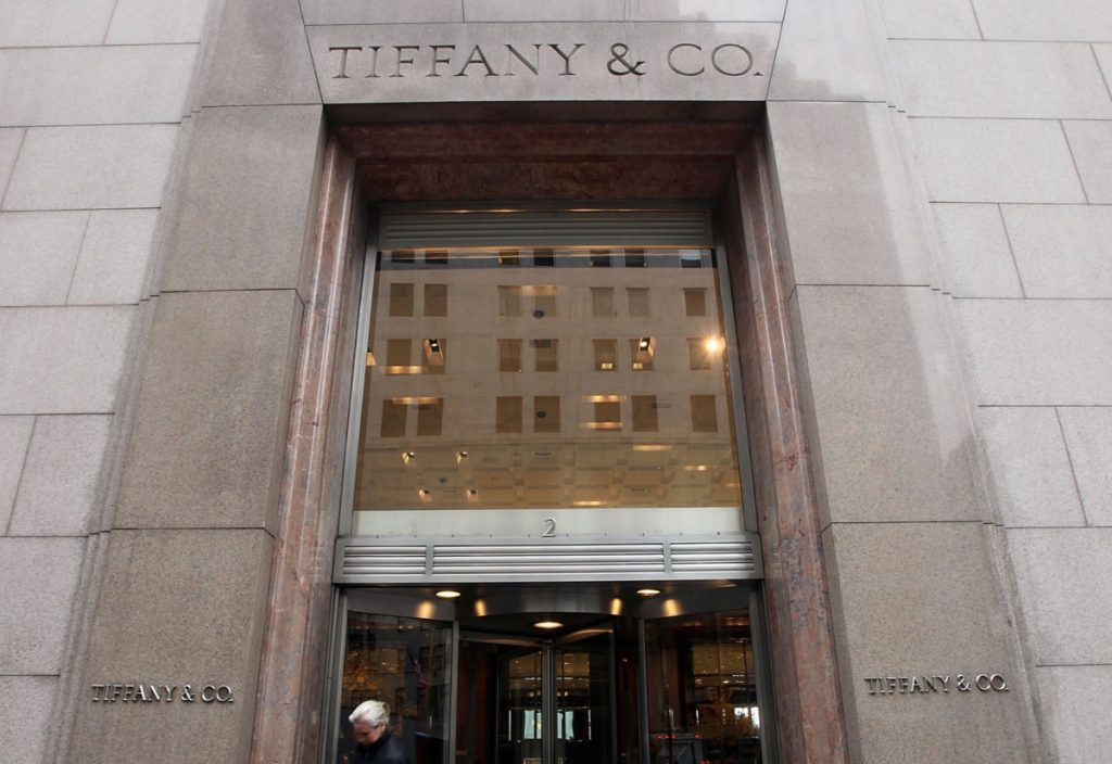 Tiffany Profits Quadrupled In Fourth Quarter