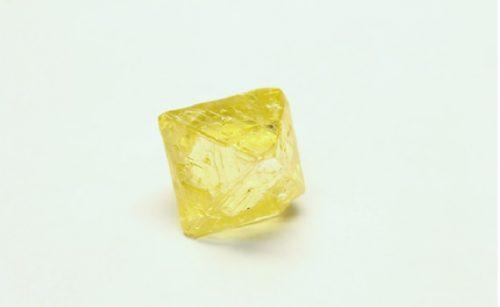 48 carat rough yellow diamond