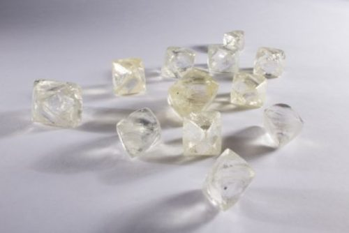 Alrosa diamonds rough