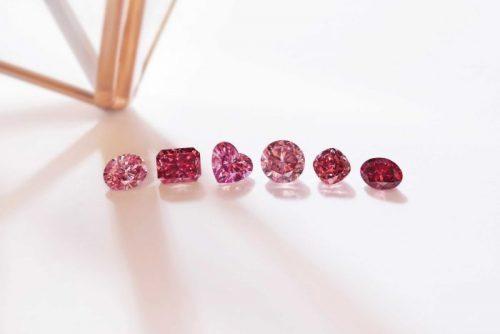 Argyle pink diamonds