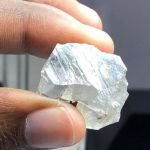 lucapa large white rough diamond