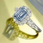 Bonhams Van Cleef Blue Diamond Ring