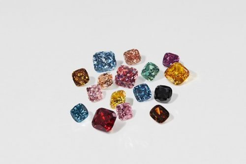 The 16 new Swarovski colours