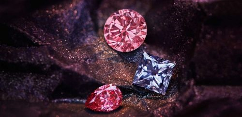 Argyle tender pink diamonds