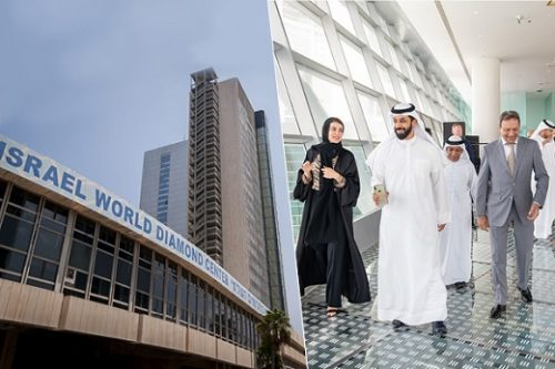 The-Israel-Diamond-Exchange-and-executives-at-the-opening-of-the-redesigned-Dubai-Diamond-Exchange