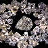 Namibia rough diamonds