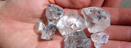 Rough diamonds Letšeng