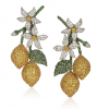 Christies della Valle lemon earrings