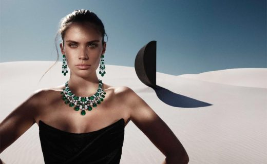 Graff's new Tribal high-jewelry collection features a stunning emerald suite