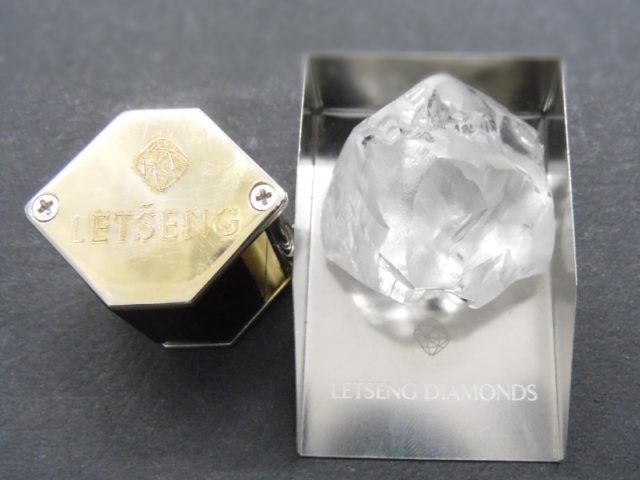 Gem Diamonds has announced the recovery of a high quality 254 carat Type II rough diamond